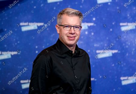 Editorial photo of Red carpet for the Axel Springer award, Berlin, Germany - 01 Dec 2020