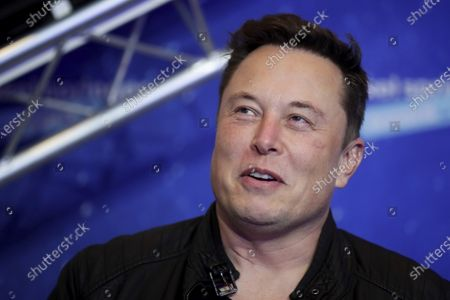 Editorial image of Musk, Berlin, Germany - 01 Dec 2020