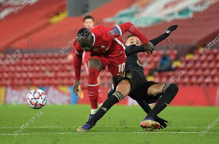 Editorial image of Soccer Champions League, Liverpool, United Kingdom - 01 Dec 2020