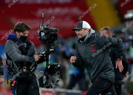 Editorial image of Soccer Champions League, Liverpool, United Kingdom - 01 Dec 2020