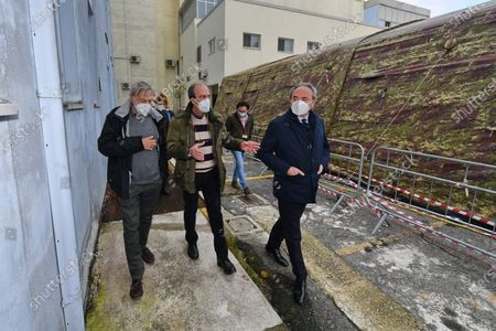 Editorial image of Gino Strada visits the Army Field Hospital in Crotone in Calabria, Italy - 01 Dec 2020