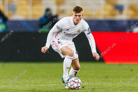 Toni Kroos of Real Madrid in action
