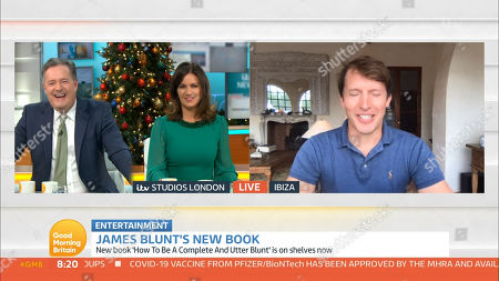 Editorial photo of 'Good Morning Britain' TV Show, London, UK - 02 Dec 2020