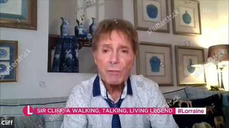 Stock Picture of Sir Cliff Richard