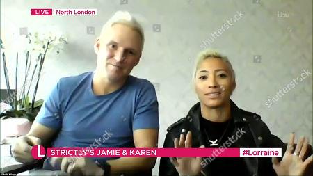 Editorial picture of 'Lorraine' TV Show, London, UK - 02 Dec 2020