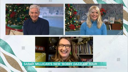 Phillip Schofield, Holly Willoughby and Sarah Millican