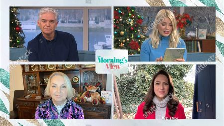 Phillip Schofield, Holly Willoughby, India Willoughby and Nicola Thorp