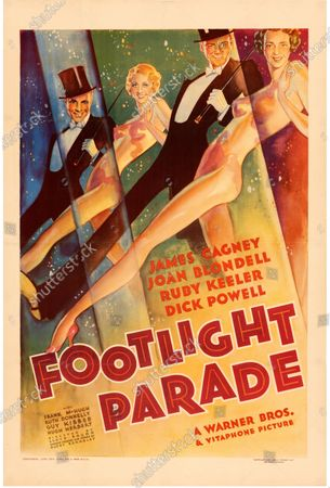 This Footlight Parade poster sold for £55,000.   An extremely rare poster for the classic movie Casablanca has sold for a staggering £255,000.  The 80ins by 80ins 'six sheet' colour poster for the 1942 romantic war epic featured its stars Humphrey Bogart and Ingrid Bergman.  It led a £2.9m auction of vintage movie posters that also included a 1933 billboard for King Kong that sold for £250,000 and a 1938 advert for Dracula that went for £240,000.