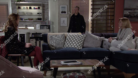 Coronation Street - Ep 10197 & Ep 10198 Friday 18th December 2020 Toyah Battersby, as played by Georgia Taylor, shares her good news with Leanne Tilsley, as played by Jane Danson, that she and Imran have been accepted as foster parents. Leanne assures Toyah she's pleased for her.