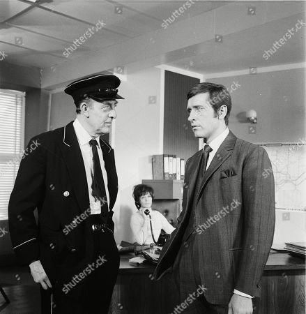 Editorial image of 'Department S' TV Show, Episode 'The Last train To Redbridge' - 1970
