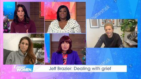 Andrea McLean, Judi Love, Stacey Solomon, Janet Street-Porter and Jeff Brazier