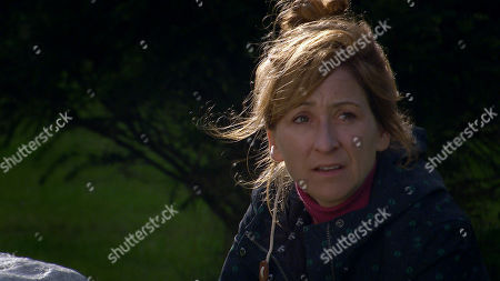 Emmerdale - Ep 8920 Tuesday 22nd December 2020 Full of self-loathing, Laurel Thomas, as played by Charlotte Bellamy, can't stand Marlon Dingle being nice to her.