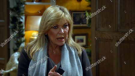 Emmerdale - Ep 8917 Thursday 17th December 2020 -2nd Ep Mack's tenancy is interrupted by a furious Kim Tate, as played by Claire King, who is back and demands he clean up and then leaves!
