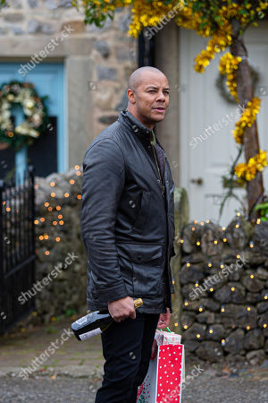 Emmerdale - Ep 8922 & Ep 8923 Thursday 24th December 2020 On Christmas day, Al Grant, as played by Michael Wildman, gives Priya an expensive necklace that matches Amba's for her Christmas present but he's eager to get away to see his mistress and he concocts a story.