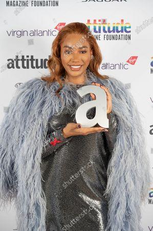 Editorial picture of Virgin Atlantic Attitude Awards Powered By Jaguar, Press Room, UK - 01 Dec 2020