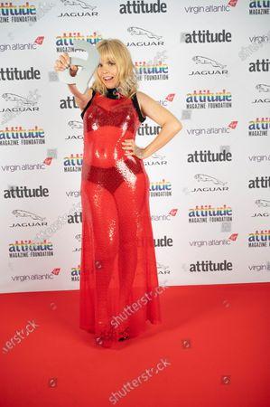 Paloma Faith with The Honorary Gay Award