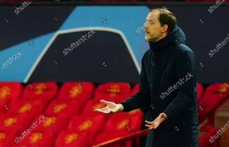 Stock Image of Paris Saint-Germain manager Thomas Tuchel