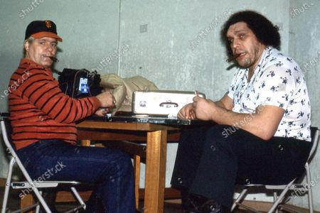 WWE Legend Pat Patterson Has Passed Away.Pat Patterson and Andre The Giant in Japan 1981.