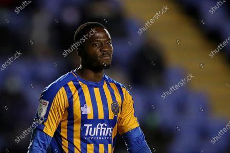 Daniel Udoh of Shrewsbury Town