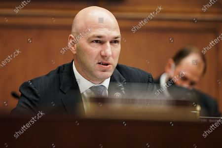 Rep. Anthony Gonzalez (R-Ohio) is seen during a House Financial Services Committee hearing on 'Oversight of the Treasury Department's and Federal Reserve's Pandemic Response' in the Rayburn House Office Building in Washington, DC, USA, 02 December 2020.