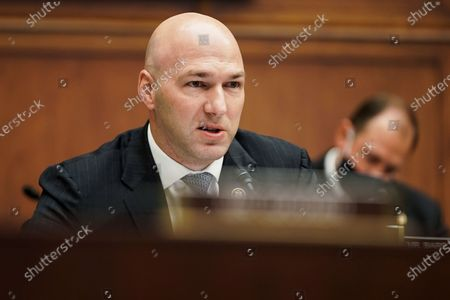 Rep. Anthony Gonzalez, R-Ohio, speaks during a House Financial Services Committee hearing on Capitol Hill in Washington