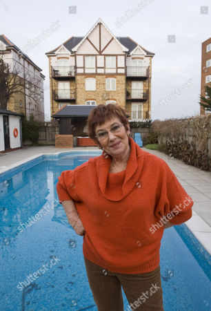 Editorial photo of Juliette Kaplan at her home in Westgate on Sea, Britain - 21 Jan 2010