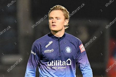Portrait of Wycombe Wanderers striker Alex Samuel (25) during the EFL Sky Bet Championship match between Wycombe Wanderers and Stoke City at Adams Park, High Wycombe