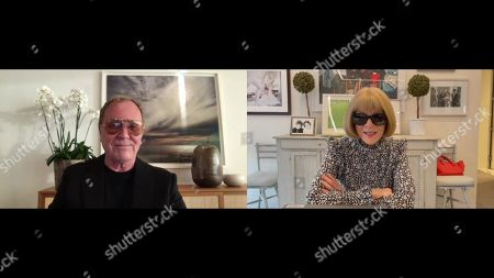 Michael Kors and Anna Wintour