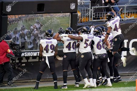 Editorial picture of Ravens Steelers Football, Pittsburgh, United States - 02 Dec 2020