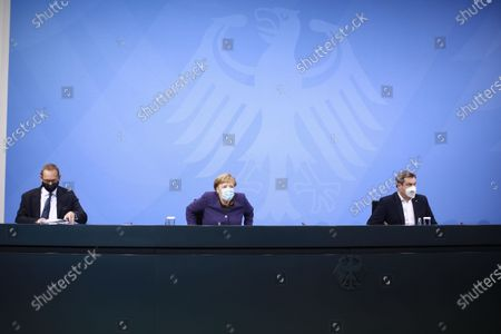 Editorial photo of Press conference on coronavirus measures, Berlin, Germany - 02 Dec 2020