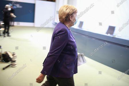 Stock Picture of Angela Merkel