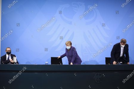 Michael Muller, Angela Merkel, Markus Söder