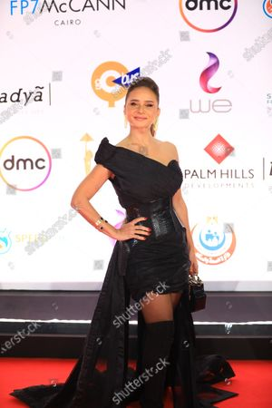 Stock Image of Nelly Karim attends the opening ceremony of the 42nd Cairo International Film Festival (CIFF), in Cairo, Egypt, 02 December 2020. According to the organizers, the 42nd edition of the CIFF running from 02 to 10 December, will feature 16 titles on their international premieres in Cairo.