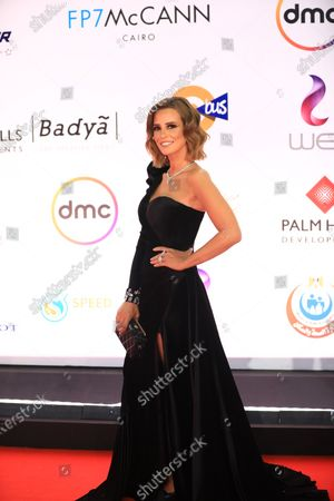 Stock Picture of Iman Al-Assi attends the opening ceremony of the 42nd Cairo International Film Festival (CIFF), in Cairo, Egypt, 02 December 2020. According to the organizers, the 42nd edition of the CIFF running from 02 to 10 December, will feature 16 titles on their international premieres in Cairo.