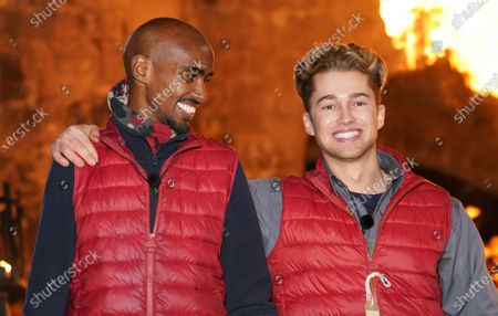 Sir Mo Farah and AJ Pritchard are voted out of the castle
