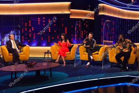Kylie Minogue, Michael Palin, Jonathan Ross, Davina McCall, Joel Dommett and Mo Gilligan