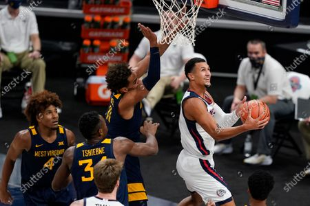 Editorial picture of West Virginia Gonzaga Basketball, Indianapolis, United States - 02 Dec 2020