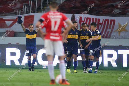 Editorial image of Argentina Soccer Copa Libetadores, Porto Alegre, Brazil - 02 Dec 2020