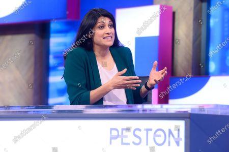 Editorial image of 'Peston' TV show, Series 6, Episode 39, London, UK - 02 Dec 2020