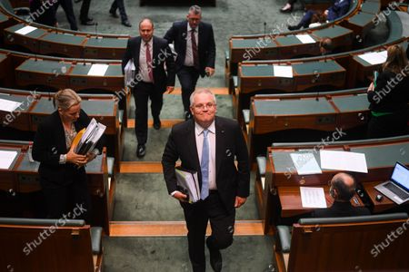 Editorial image of Question Time at Parliament House in Canberra, Australia - 03 Dec 2020