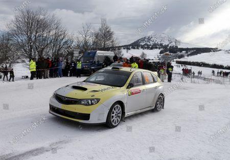 2013 World Rally Championship Monte Carlo Rally 15th - 20th January 2013 Eamon Boland, Subaru, action Worldwide Copyright: McKlein/LAT