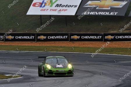 17-20 October, 2012, Braselton, Georgia USA Peter LeSaffre, Damien Faulkner, Brian Wong (34) Green Hornet Racing Porsche 911 GT3 Cup  (c)2012, Scott R LePage  LAT Photo USA