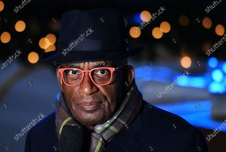 Al Roker at the 88th annual Rockefeller Christmas Tree Lighting in New York City.