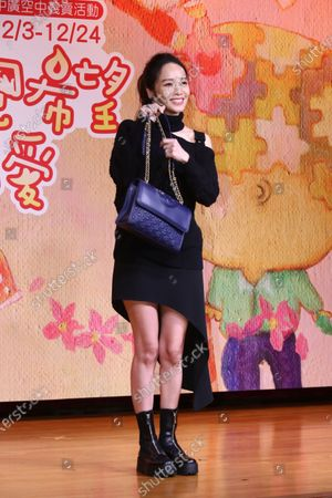 Stock Picture of Patty Hou attends a charity sale event as the charity ambassador.