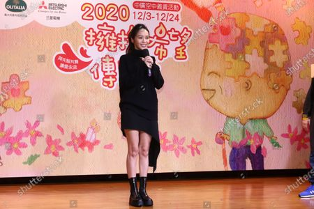 Patty Hou attends a charity sale event as the charity ambassador.