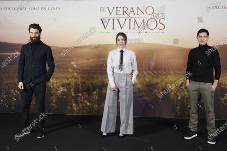Blanca Suarez and Javier Rey, Pablo Molinero