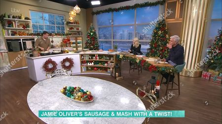 Jamie Oliver, Phillip Schofield, Holly Willoughby