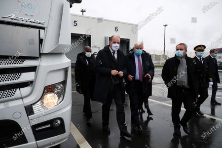 Editorial photo of Jean Castex's visit on Brexit preparations, Calais, France - 03 Dec 2020