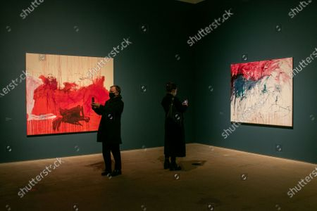 Editorial picture of Tracey Emin/Edvard Munch at the Royal Academy of Arts, London, United Kingdom - 03 Dec 2020