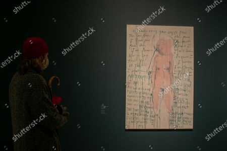 Editorial image of Tracey Emin/Edvard Munch at the Royal Academy of Arts, London, United Kingdom - 03 Dec 2020